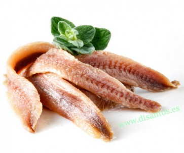 FILETE ANCHOA EX. A.OLIVA LATA 625 GRS DISANT