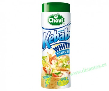 SALSA KEBAB WHITE 250 ML X6